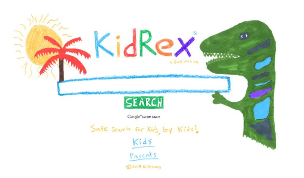 KidRex, motore di ricerca per bambini