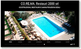 Online il nuovo sito di CO.RE.MA. 2000 Restauri Roma