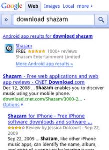 Google trova anche le App