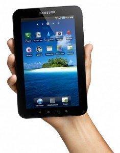 Prova su strada del Samsung Galaxy Tab