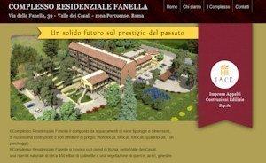 E' online il sito del Complesso Residenziale Fanella a Roma