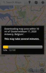 Google Maps 5.7: esteso il supporto alle mappe offline