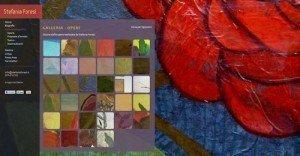 Online il sito web della pittrice Stefania Foresi