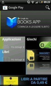Google Play Libri è disponibile anche in Italia