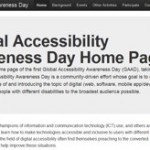 9 maggio: primo Global Accessibility Awareness Day
