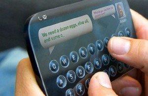 Una nuova tecnologia aggiunge tasti fisici ai display touchscreen
