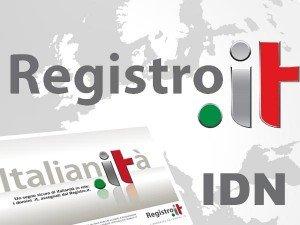 Dall'11 luglio registrazione domini IDN accentati