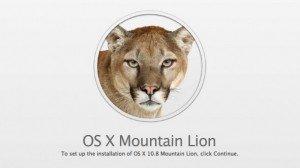 Apple rilascia OS X 10.8 Mountain Lion