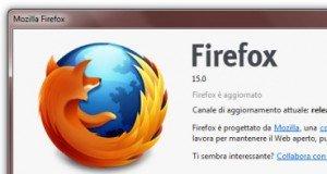 Mozilla Firefox 15: più snello e veloce, con un occhio ai videogiochi