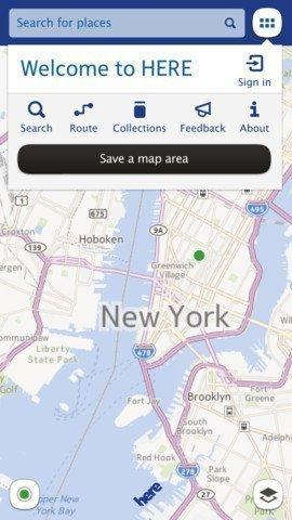 Nokia Here: le mappe gratuite personalizzate per iOS