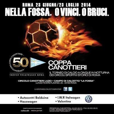 Pselion è media partner della Cinquantesima Coppa dei Canottieri di calcio a 5