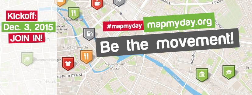 Mapmyday