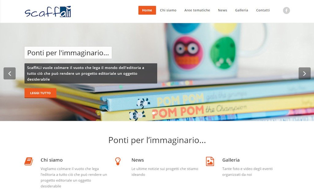 sito web Associazione Culturale ScaffALI
