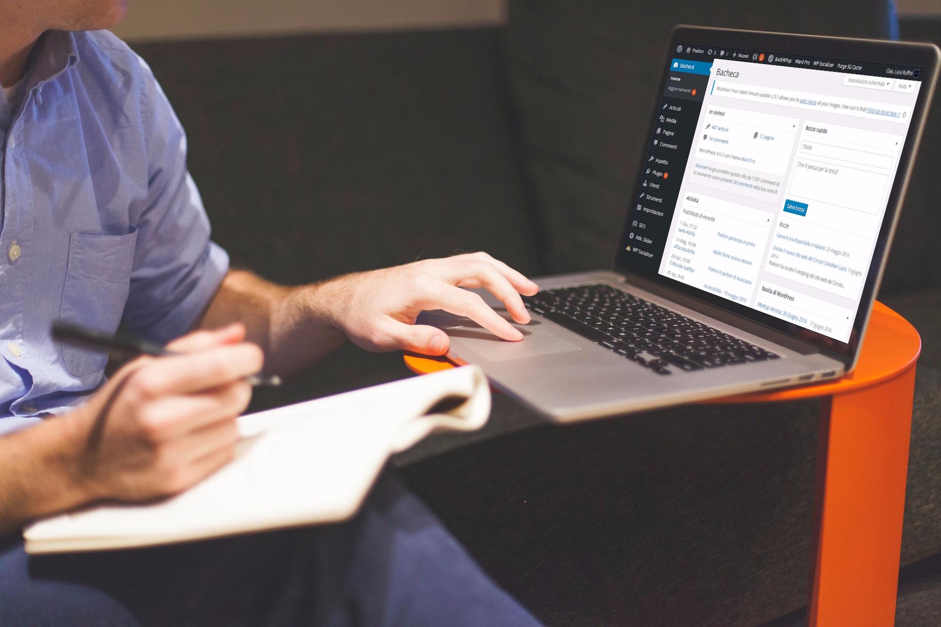 Pselion - Servizio di sviluppo e assistenza Wordpress
