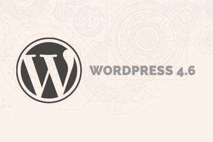 WordPress 4.6: novità e miglioramenti