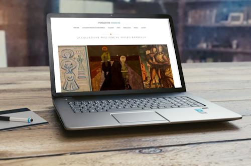 Demo del sito della Fondazione Immagine di Chieti