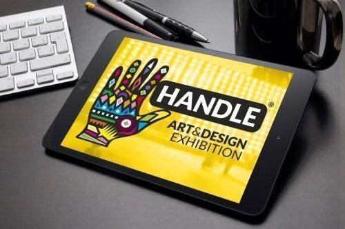 sito web di Handle – Art & Design Exhibition