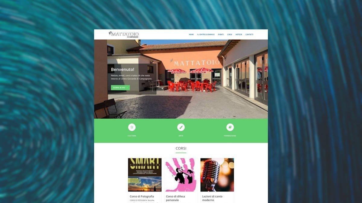 Sito web del Centro Giovanile di Campagnano di Roma