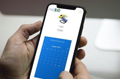 Web app prenotazione campi sportivi per Circolo Canottieri Lazio