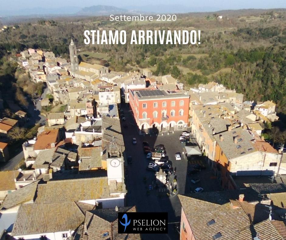 Promo nuova sede operativa di Pselion a Campagnano di Roma