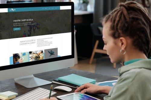 Sito web della Cooperativa Climax