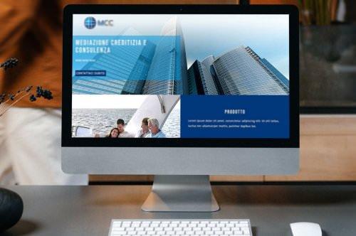 Sito web di MCC Mediazione Creditizia e Consulenza