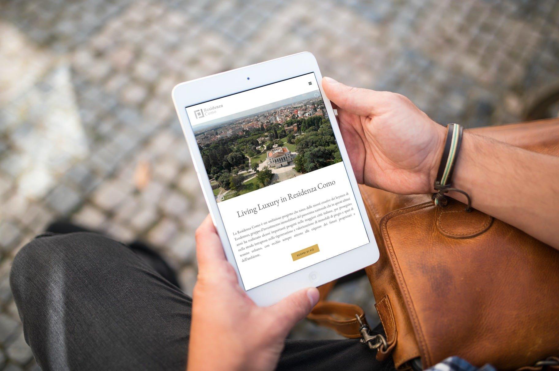 Sito web Residenza via Como a Roma